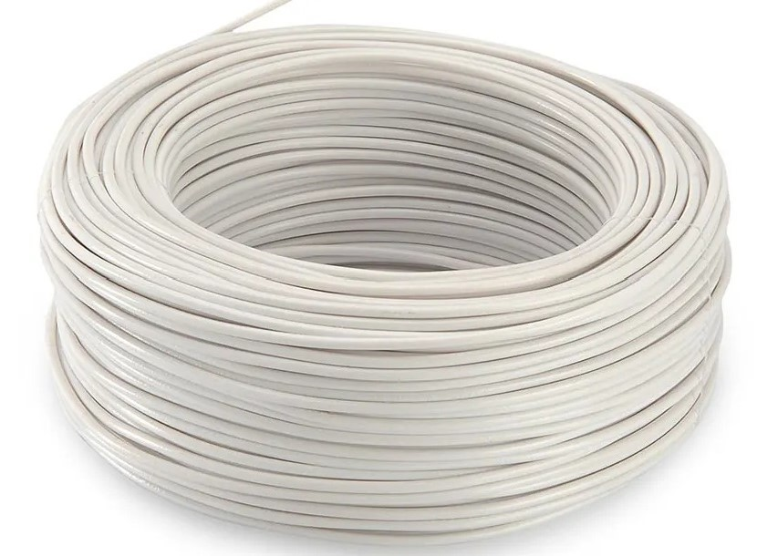 CABLE SOLIDO # 14 AWG BLANCO