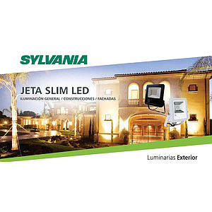 REFLECTOR JETA SLIM LED 50W 100 240VAC IP65  6500K SYLVANIA