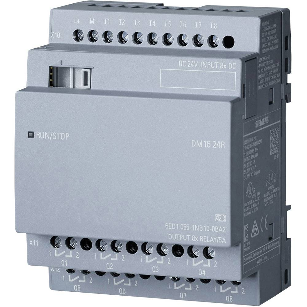 UNIDAD DE AMPLIACION LOGO 8 DM16 24R 8DI/8DO  6ED1055-1NB10-0BA2